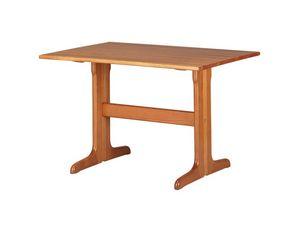 TV03, Table rectangulaire en hêtre massif, pour les restaurants