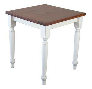 TA41, Table carrée en hêtre massif, pour les environnements rustiques