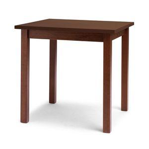 Trattoria, Table linéaire en bois de hêtre pour le restaurant