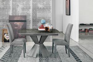 POSEIDONE 120 TA1A3, Table de cuisine extensible