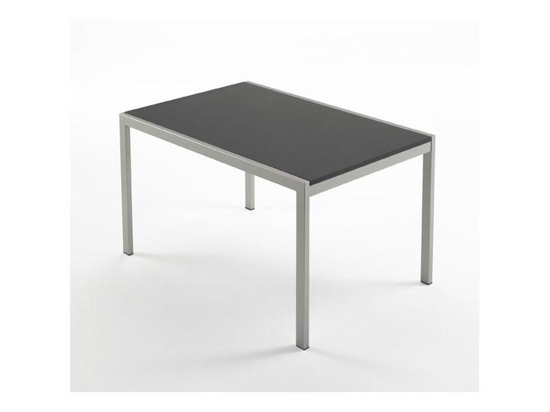 Re table, Table à manger moderne, en hêtre, pour la maison