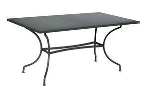 Ascot, Table d'extérieur en fer galvanisé