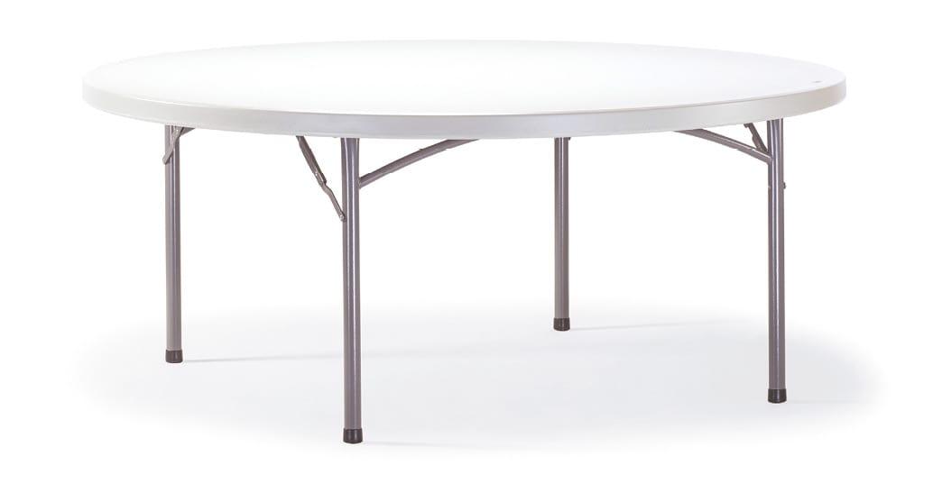 FT PLANET CIRCLE, Table ronde pliante pour le jardin