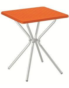 Jimmy, Table de jardin, piano tondo o quadrato, plusieurs couleurs