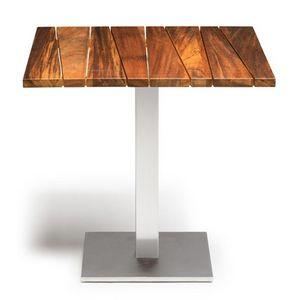 Sorrento/t, Table d'extérieur, en bois et en acier iroko