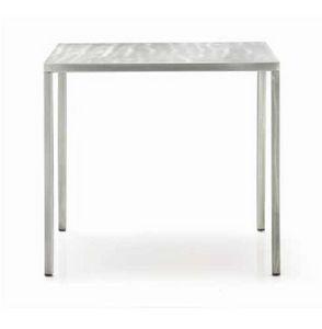 Fabbrico, Table en métal, utilisable aussi à l'extérieur