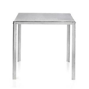 TA50, Table en acier galvanisé avec plateau carré