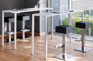 Togo H110, Table haute, en métal, également pour l'extérieur
