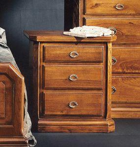 '800 table de nuit, Table de chevet pour chambres de style classique