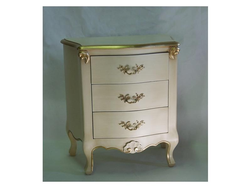 Art. 1786 ivory, Chevet en bois, la finition de l'ivoire et de l'or, pour les hôtels