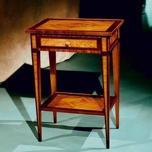 Art. 195 Ginevra, Table de chevet haute incrustée