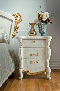 Fenice Art. 1306, Table de chevet élégante, style classique