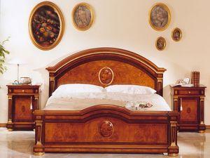 IMPERO / Chest of drawers, Chevet de luxe classique, avec des sculptures, des Chambres