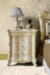Madame Royale table de chevet, Table de chevet classique luxueuse