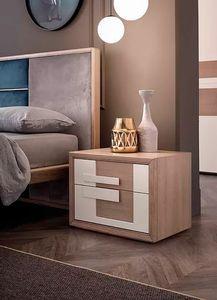 Aurea, Table de chevet en bois