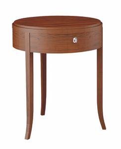Colorado table de nuit, Table de chevet, en bois, pour chambre d'hôtel