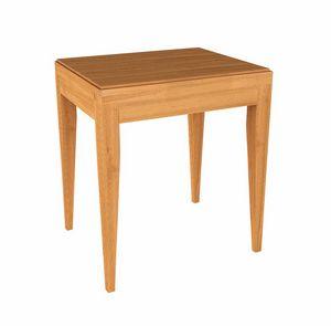 Eleganza table de chevet, Table de chevet en bois pour l'hôtel