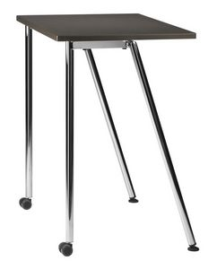 GIKO 750 R, Petite table avec base en métal avec des roues, pour les écoles et les bureaux