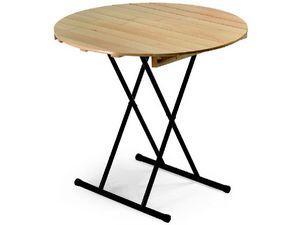 Table Eva, Table pliante, plateau rond wiwth, pour le banquet