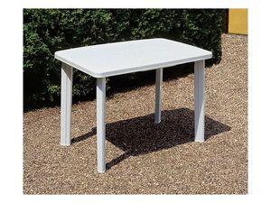 Faretto, Table pour les jardins, en plastique durable
