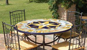 Rosa dei Venti antica, Table de jardin ou pour environnements classiques
