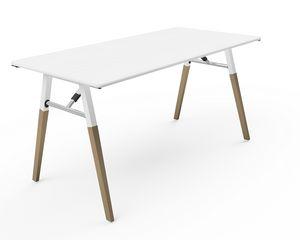 A-Fold AF1575, Table rectangulaire pour réunions, conférences et banquets
