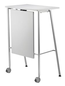 GIKO 755 + OPT, Table haute avec base en métal, pour les bureaux et les écoles