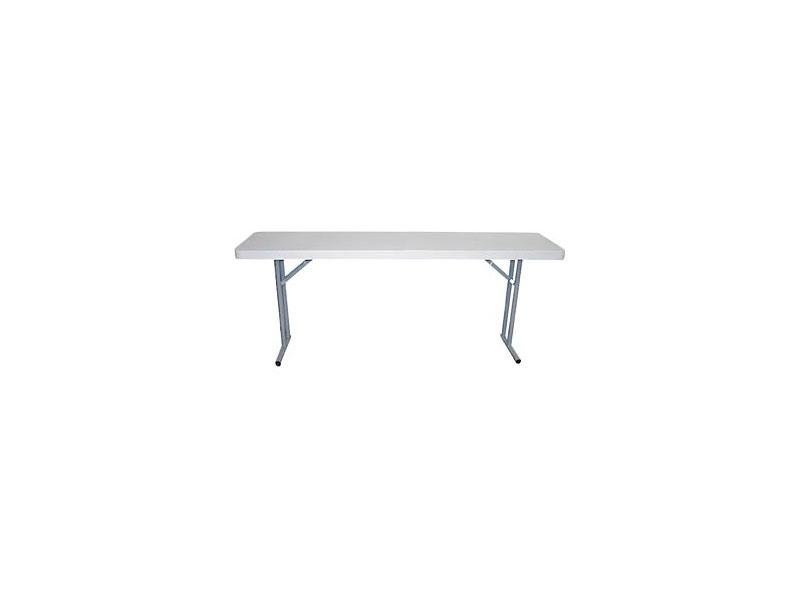 Resol.C - Bach, Table pliante en plastique, pour une utilisation extérieure