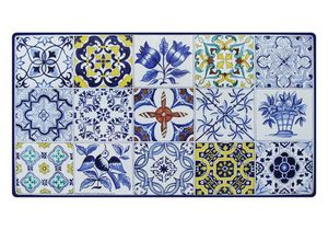 Azulejos, Table inspir�e des carreaux de majolique portugais
