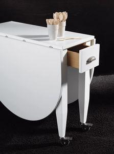 Art. 739 Open, Table pliante avec roues, encombrant