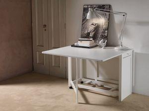 Art. 750 Party, Table pliante, avec réservoir de stockage pour les chaises