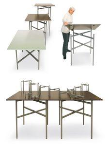 BuffetCube - Buffet, Table pliante pour les buffets et la restauration, personnalisables