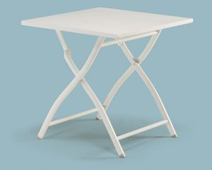 FT 741, Table pliante en aluminium, pour l'extérieur