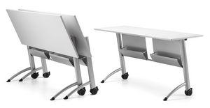 KOMBY 937, Table avec capote avec des roues, pour les zones de réunion