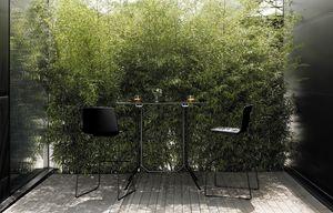 Poule Hauteur rectangulaire, Table rectangulaire haute design, pour bar extérieur