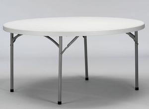 Resol.C - Verdi, Tables pliantes, pratiques, top en plastique, pour le banquet