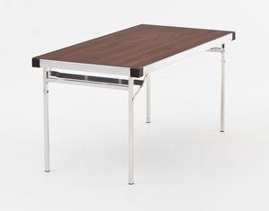 Slimlite BSL1875, Table pliante en aluminium, modulaire, pour extérieur