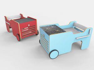 Brumm, Table pour enfants en forme de voiture