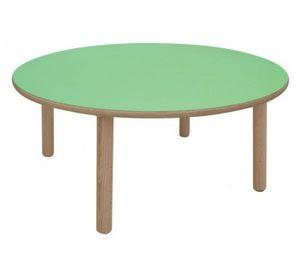 IT_C, Table ronde en bois, idéal pour les aires de jeux