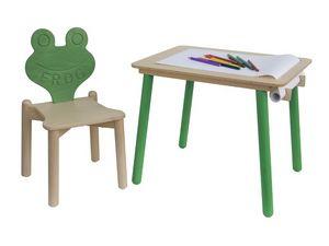 YO-YO, Bureau d'enfant, avec porte- papier, pour la maternelle