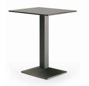 art. 4560-Quadra, Table pour restaurant, avec dessus carré