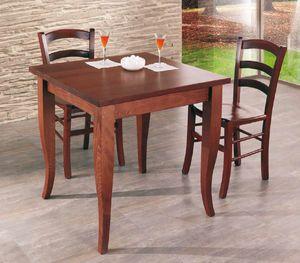 Cral, Table en bois pour restaurant