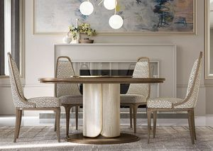 Alexander Art. A05, Table ronde disponible avec Lazy Susan