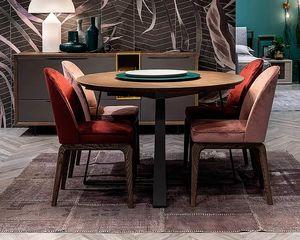 Desi, Table ronde extensible