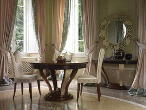 Grand Etoile Art. GE008, Table à manger ronde