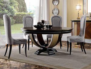 Oliver Art. OL05/160, Table ronde pour des salles à manger élégantes
