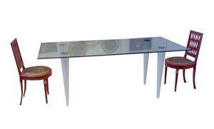 XC-06, Table avec plateau en verre