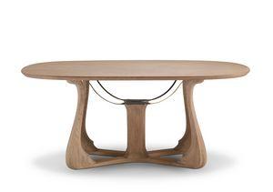 6104 Arpa, Élégante table à manger ovale