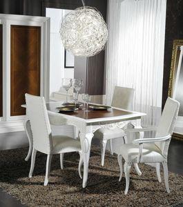 Art. 101, Table à manger élégante dans un style classique