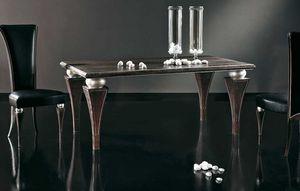 Art. 674, Table à manger avec des pieds de pyramide inversée